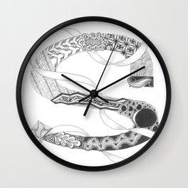 """Zenletter """"S"""" Wall Clock"""