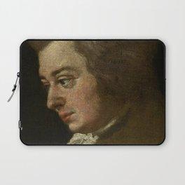 Wolfgang Amadeus Mozart (1756 -1791) by Joseph Lange Laptop Sleeve