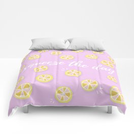 Squeeze The Day   Lemons Comforters