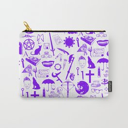Buffy Symbology, Purple Carry-All Pouch