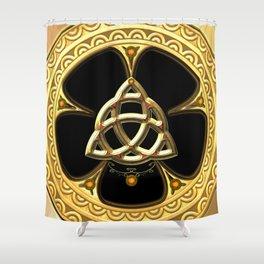 Decorative celtic knot Shower Curtain