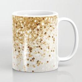 Sparkling Gold Glitter Glam #2 #shiny #decor #art #society6 Coffee Mug