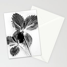 Strawberry Leaves Stationery Cards
