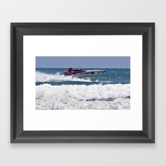 Need for Speed Framed Art Print