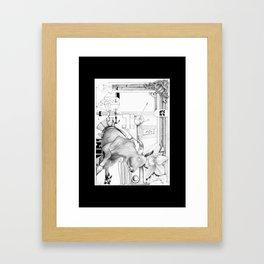 Kuh P Framed Art Print