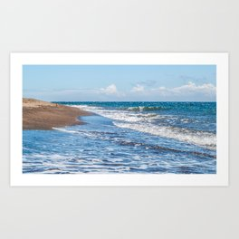 Dauin Meets the Sea Art Print