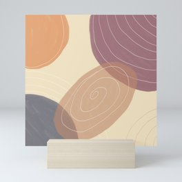 abstract art trend Mini Art Print