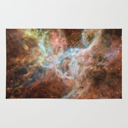 The Galaxy Above with Stars Rug