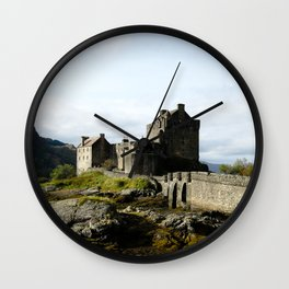 Eilean Donan - Vertical Wall Clock