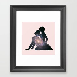 Universe in everything Framed Art Print