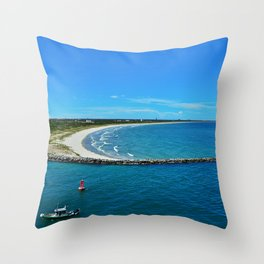Cape Canaveral Throw Pillow