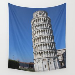 Pisa Tower Wall Tapestry
