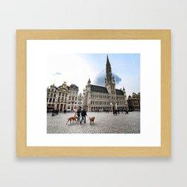 Grand Place, Brussels Framed Art Print
