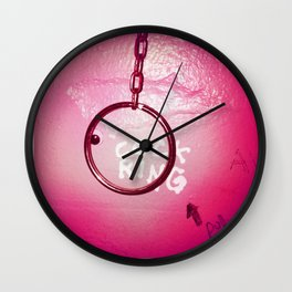 Cock Ring Wall Clock