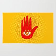Hand and eye Rug