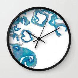 Delft Ink Wall Clock