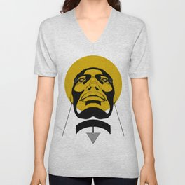 women in gold Unisex V-Neck