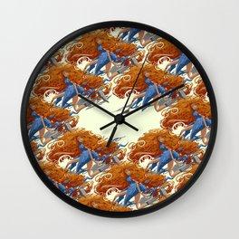 Pelirroja Wall Clock