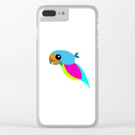 parrot Clear iPhone Case