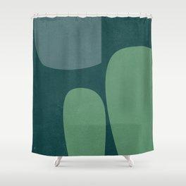 Revealed-7 Shower Curtain