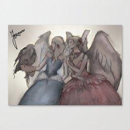Angels (2) Canvas Print