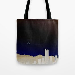 Denver Flyby Tote Bag