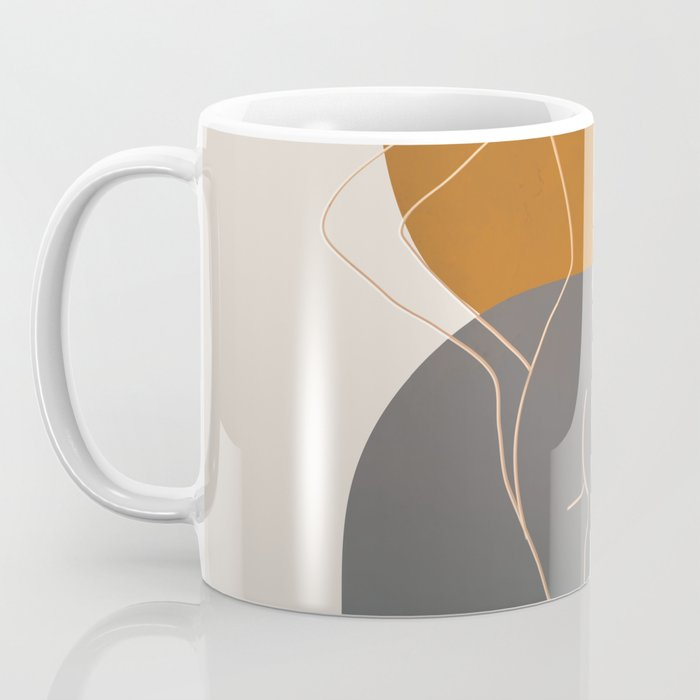 Line Female Figure 82 Coffee Mug