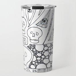 Skulls & Buddha No. 25 Travel Mug