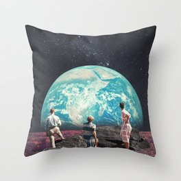 Don't Worry, the Kids will be Alright Throw Pillow