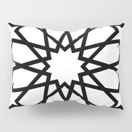 Islamic Geometric Line Art Pillow Sham