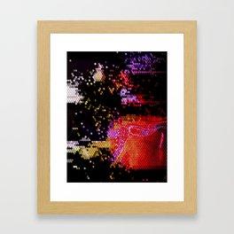 Qubit Framed Art Print