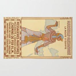 Vintage poster - Egypt Rug