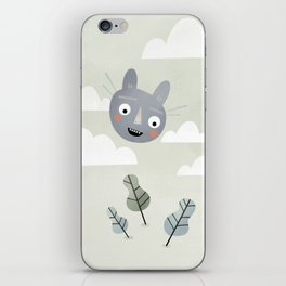 Cat in the Sky. iPhone Skin