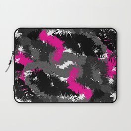 Wild cluster: pink Laptop Sleeve