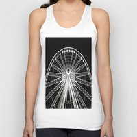 ferris wheel Tank Tops featuring Ferris Wheel by Mack & Mack