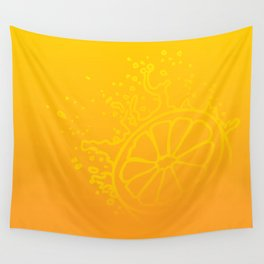 Juicy Orange V6S2 Wall Tapestry