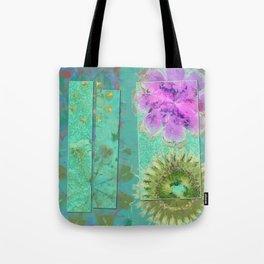 Dezincking Existence Flower  ID:16165-094422-82461 Tote Bag