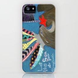 Let the Sea Stir Your Imagination iPhone Case