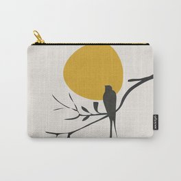 Bird and the Setting Sun Carry-All Pouch