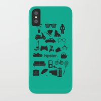 hipster iPhone & iPod Cases featuring hipster by tycejones
