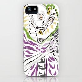 Dia de los Muertos Serpent Kingpin iPhone Case