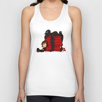 peanuts Tank Tops featuring Dragon Peanuts by le.duc