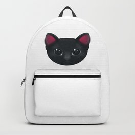 Black Cat Hypnotise Backpack