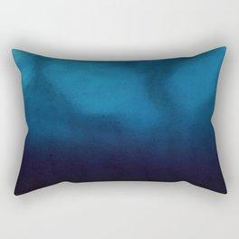 Calm at the Depth of the Ocean Abstract Rectangular Pillow