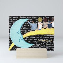 Night Changes Mini Art Print