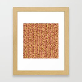 Primal-Canyon colorway Framed Art Print