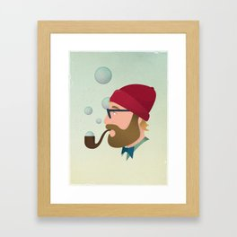 Soap bubble Hipster Framed Art Print