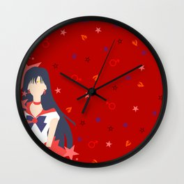 Soldier of Flame and Passion Wall Clock