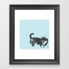 Sinatra Blue  Framed Art Print