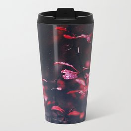 Red Metal Travel Mug